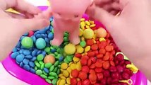 Learn Colors MandMs Chocolate Triple Baby Doll Bath Time Colours for Children