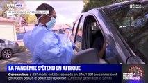 Covid-19: la pandémie s'étend en Afrique