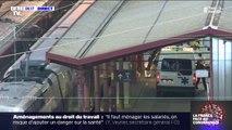 Le TGV sanitaire affrété pour évacuer 20 patients en état grave s'apprête à quitter Strasbourg