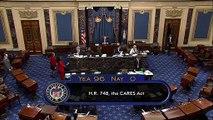 Senado de EEUU aprueba plan de ayuda billonario por pandemia de coronavirus