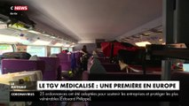 Le TGV médicalisé : une première en Europe