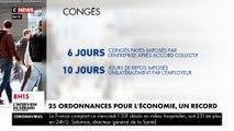 Coronavirus : 25 ordonnances pour l'économie, un record sous la cinquième République