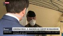 Coronavirus : Emmanuel Macron au chevet de Mulhouse