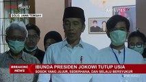 Jokowi Minta Doa Untuk Ibunda Sujiatmi Notomiharjo