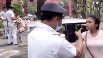 West Bengal Police की Lockdown Duty के बीच एक महिला ने Kiss कर मचाया बवाल, VIRAL VIDEO | Boldsky