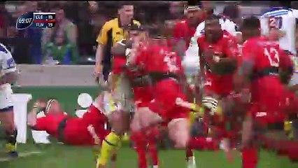 Drew Mitchell casse 6 plaquages et marque un essai décisif en finale de coupe d'Europe de Rugby