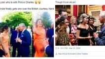 Kanika Kapoor Prince Charles की पुरानी Photo Viral, लोगों ने यूं लिए मजे । Boldsky