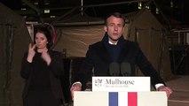 Emmanuel Macron à Mulhouse : « Nous devons être unis »