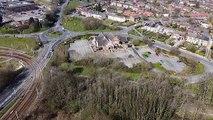 Drone footage shows Sheffield on coronavirus lockdown