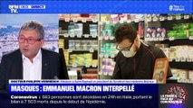 Masques: Emmanuel Macron interpellé - 26/03
