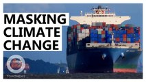 Are container ship exhaust fumes delaying climate change?