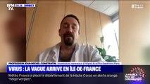 """Jean-Michel Constantin, anesthésiste à la Pitié-Salpêtrière: """"On se demande quand est-ce que l'afflux va diminuer"""""""
