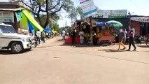 इटावा:  लॉक डाउन के दौरान सड़कों पर दिखी भीड़