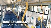 Coronavirus: Peru disinfects buses