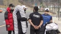 """""""6주 만의 외출""""...올림픽 국가대표 '집으로' / YTN"""