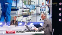 Le monde de Macron : Emmanuel Macron promet un plan massif pour l'hôpital ! - 26/03