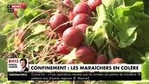 VIRUS - Avec la fermeture des marchés, les maraichers n'arrivent plus à vendre leurs légumes frais - VIDEO