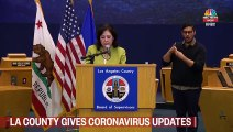 Los Angeles County Gives Coronavirus Update - NBC News