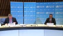 Coronavirus- WHO holds briefing on pandemic