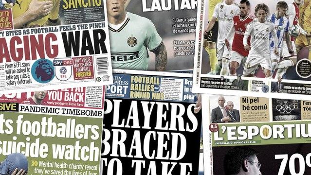 Le vestiaire du Barça divisé sur les réductions de salaire, la dernière chance du Real Madrid dans le dossier Pogba