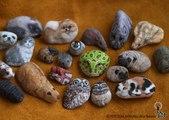 Elle donne vie aux pierres en les transformant en animaux