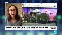 Pandémie de Covid-19 aux États-Unis : La plan de soutien à l'économie approuvé au Sénat