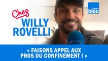 HUMOUR | Faisons appel aux pros du confinement ! Willy Rovelli met les points sur les i