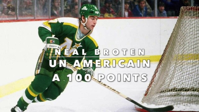 Neal Broten passe la barre des 100 points