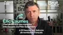"""""""On ne peut pas envoyer des combattants au feu sans équipement de protection"""" : le coup de gueule du Pr. Éric Caumes"""