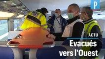 TGV médicalisé : 20 patients évacués du Grand-Est vers les Pays-de-la-Loire