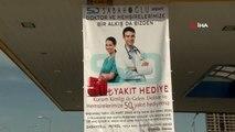 Sağlık çalışanlarına akaryakıt desteği