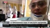 « On prend des risques pour seulement 1,40 euros » : le témoignage choc d'une élève infirmière