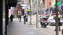 Ces policiers danseurs ont mis de l'ambiance dans les rues désertes d'Andorre