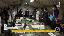 Coronavirus : à Mulhouse, Macron promet un plan massif d'investissements pour l'hôpital