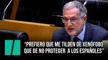 """Juan Luis Steegmann: """"Prefiero que me tilden de xenófobo  que de no proteger  a los españoles"""""""