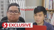 Surviving Covid-19: Patient extremely grateful following hospital discharge