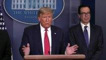 Coronavirus: Donald Trump pense déjà à la fin du confinement