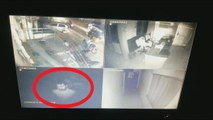Man possessed by Ghost caught on CCTV - Real Ghost Videos in india - Real Scary Videos