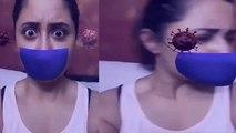 Rashami Desai इस तरह से लड़ रही है Virus से, Social Media पर Viral हुआ Video | FilmiBeat