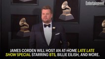 BTS, Billie Eilish, More to Join James Corden Remotely for Star-Studded Late Late Show Special