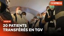 Coronavirus : le TGV médicalisé transportant des patients est parti de Strasbourg