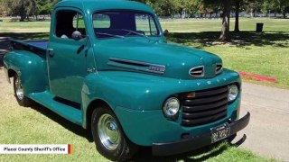 Police On Hunt After Someone Steals 1948 Ford 'Peabody'