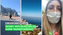Mi vida en cuarentena: Giusey nos muestra un Capri transformado