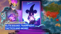 Mobile gaming news: Elite Squad, Teamfight Tactics and more!