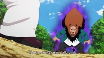 Lion uses the power of hair to defeat other lion | Murenase! Seton Gakuen (Seton Academy: Join the Pack!)