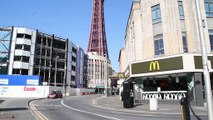 Coronavirus: Blackpool deserted as people take government advice to stay indoors