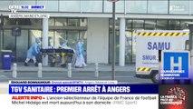Le TGV médicalisé transportant des malades du coronavirus est arrivé à Angers