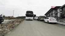 Sakarya'da, 25 TIR sürücüsü yurda yerleştirildi