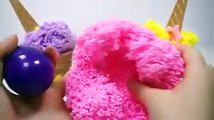 Play Foam Surprise Toys Learn Colors Ice Cream Cups with Rainbow Bubble Gum