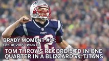 Tom Brady No. 17 Moment: QB Throws For Six TDs Vs. Titans In Blizzard